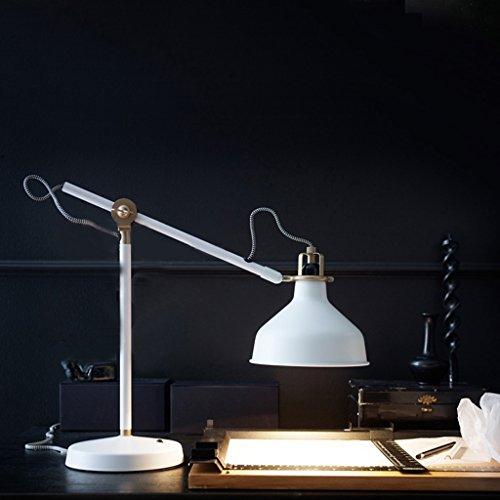 Bonne chose lampe de table Creative Work Office Lampe Metal Bar Desk Lamp Personnalité Vertical Learning Long Arm Folding Lamp
