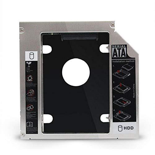 #N/V Soporte universal de disco duro para portátil Sata3 de 12,7 mm
