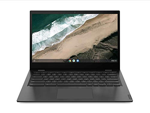 Lenovo Chromebook S345-14AST Laptop 35,6 cm (14 Zoll, 1920x1080, Full HD, entspiegelt) Slim Notebook (AMD A4-9120C, 4GB RAM, 32GB eMMC, AMD Radeon R4 Grafik, ChromeOS) grau