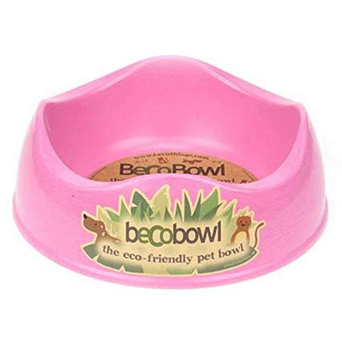 BecoThings Futternapf für Hunde Gr. L ca. 1,5 L pink