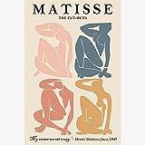Vintage Henri Matisse impreso pintura de arte abstracto carteles e impresiones decoración de sala de estar pintura de lienzo sin marco C15 60x90cm