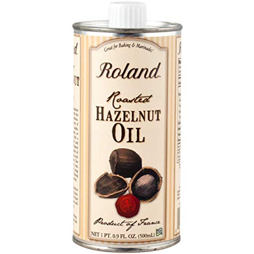 Roland Foods Roasted Hazelnut Oil, Specialty Imported Food, 16.9 Fl Oz Can