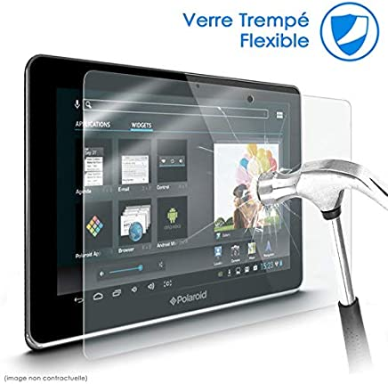 KARYLAX Protection décran Film en Verre Nano Flexible pour Tablette Polaroid Infinite 10.1 Pouces