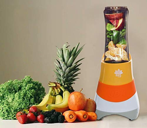 BMS Lifestyle ABS Portable Electric High-Speed Blender for Smoothies, Ice and Frozen...