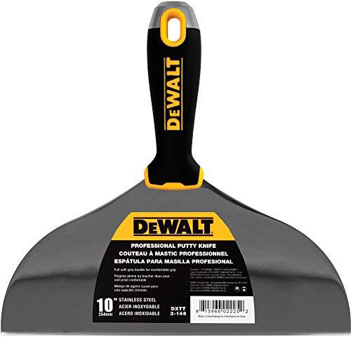 DEWALT DXTT-2-146 Spachtelmesser, Edelstahl, mit weichem Griff, 25,4 cm