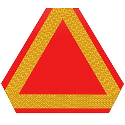 SAVITA Triángulo Reflectante de Advertencia Triángulos Reflectantes Señal...