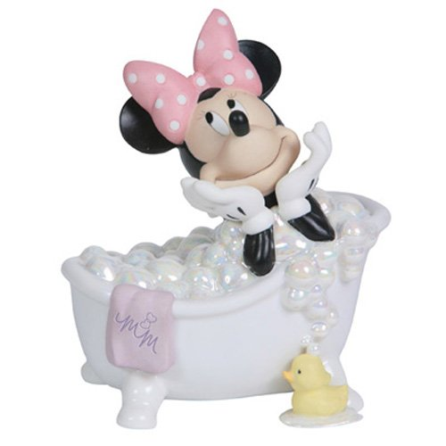 Precious Moments The Magic of Disney Collectible Figurine, Wash Away Your Troubles