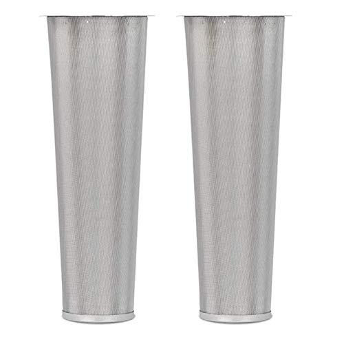 Moligh doll Kaffee Filter für 2 Weit Hals Einmach Gl?Ser Edelstahl Ultra Feine Mesh Tee Kaffee Maschine mit Frucht Injektor