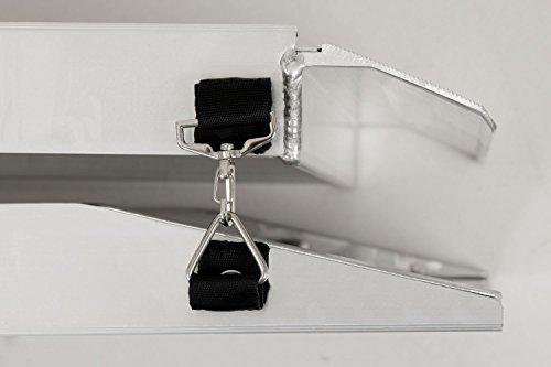 Faltbare Aluminium Hunderampe in verschiedenen Längen - 8