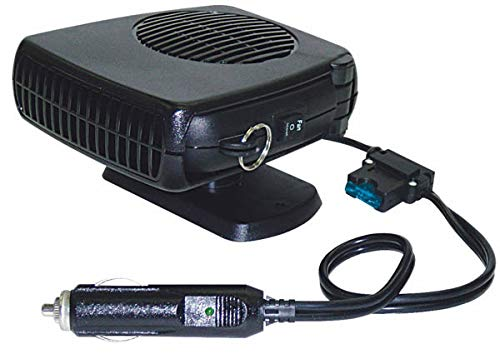 WESTFALIA Automotive 12V Thermo Keramik Heizlüfter 150W 3-in-1 Heizung Enteiser Kühlung Ventilator Auto