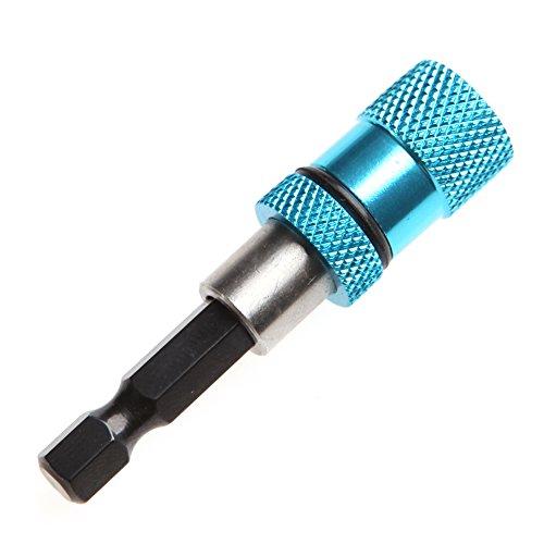 WOWOWO Durable 1/4'Vástago magnético Tornillo para Paneles de Yeso Soporte para Brocas Hexagonal Taladro Tornillo Herramienta