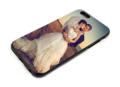 PixiPrints Foto-Handyhülle Kompatibel mit Apple iPhone 11 selbst gestalten & mit eigenem Bild Bedrucken * Hüllentyp: TPU-Silikon/Schwarz-Matt