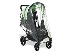 Fits with Either Valcobaby Snap 3 or Snap4 strollers zip off front section allows for easy access in and out of stroller works with most 4 wheel umbrella style strollers provides full coverage for baby from all the element such as wind, water and sno...