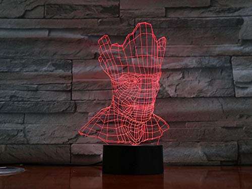 ZZFGXX nachtlampje voor de Galaxie Groot 7 kleuren, licht voor kinderen, magische lantaarn, cadeau voor nieuwjaar, slaaplicht, sfeerlicht