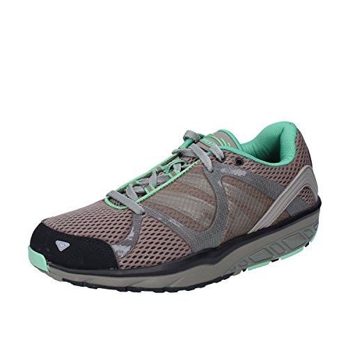 MBT New Women's Leasha Trail 5 Lace Up Olive Night 37