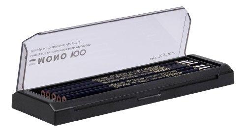 Tombow MONO-100-AS Bleistift Mono 100, 12-er Set