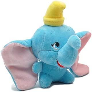 Cute Dumbo Plush Keychain Elephant Plush Toy Doll Key Chain Pendant Key Ring Handbag Charm for Girls