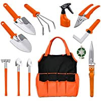 12-Piece Bechi Gardening Tools Set with Storage Tote Bag