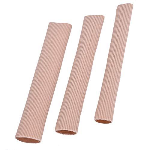 yyuezhi Schlauchbandage finger Druckschutz Zehen Silikon Gel Zehenschutz 3 Stück Fingerbandage Zehen Neutralisieren Sie Reibung und Druck, um Schmerzen bei Nagelproblemen zu lindern