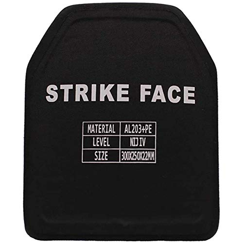 FFTUB PE Bulletproof Board NIJ4 Three-Level Composite Bulletproof Version Suitable for Tactical Vests and Tactical Backpacks