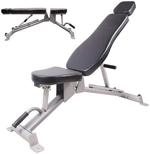 WBZ ZJX Verstellbare Bänke Hantel Hocker, Sit-Ups Fitness Bench Press Bench, Multifunktionale Faltung Fitness Stuhl
