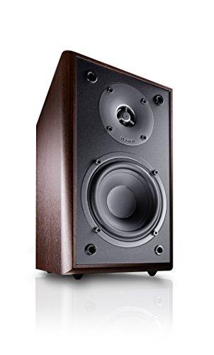 Magnat Monitor Supreme 102 I 1 Paar Regallautsprecher mit hoher Klangqualität I Passiv-Lautsprecherbox für anspruchsvollen HiFi-Sound, Farbe:Mocca