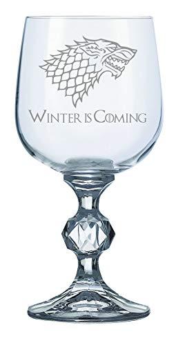 """Lapal Dimension Weinkelch Haus Stark, inspiriert von """"Game of Thrones"""", 340 ml"""