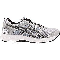 ASICS Men's Gel-Contend 5 Running Shoes, 8.5M, MID Grey/Black