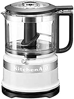 KitchenAid Mini Robot Ménager Classic, Blanc 0.83 Litre, 240
