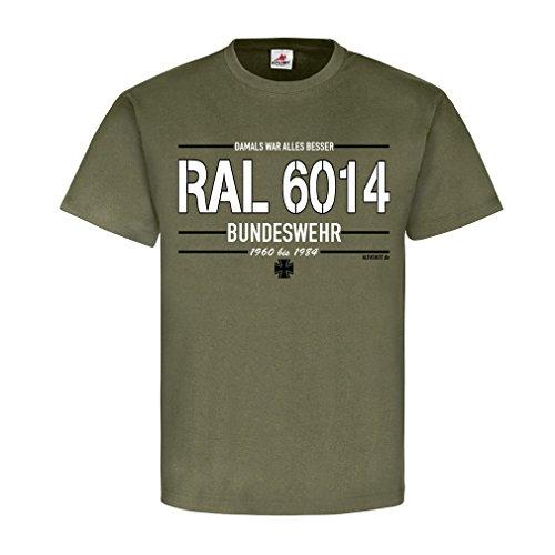 Copytec RAL 6014 BW Bundeswehr kleur lak kleur damaal was alles beter reservist Veteran militaire voertuigen fan band #21408