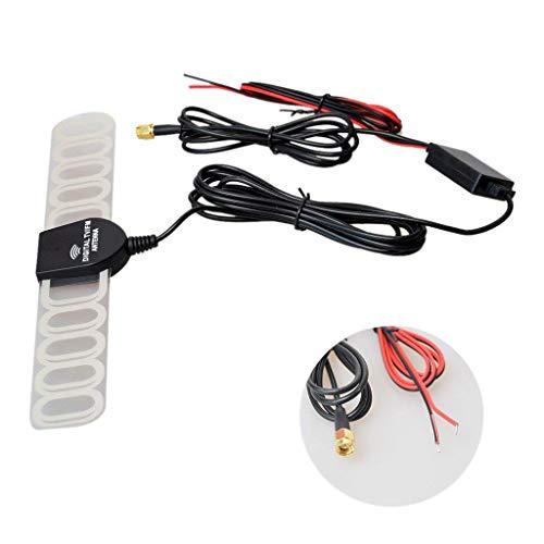 ACAMPTAR Auto Digital TV TV Analogica DVB-T/DVB-T2 / ATSC/BID Antenna Amplificatore di Segnale Radio FM per Autoradio Dvd SMA Connettori