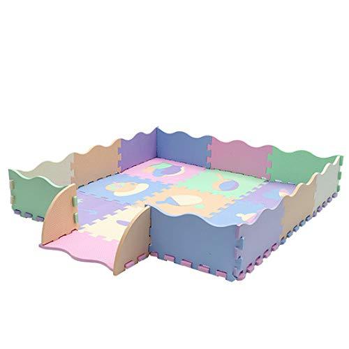 North King Bébé tapis de Jeu,pad mousse Puzzle/tapis de jeu pour bébé