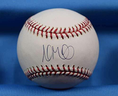 Andrew Miller MLB And Tigers Coa Autograph Major League OML Signed Baseball - Autographed Baseballs