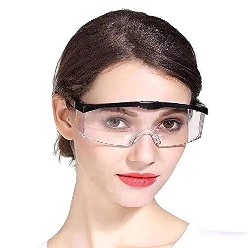 3 gafas antivirus, alta calidad, retráctiles ajustables