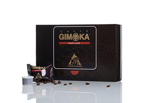 Gimoka Italienischer Kaffee Kaffeekapsel 100% Arabica 30 Stück 198g für Kaffeemaschine Whi Caffe Tiny oder andere Geräte