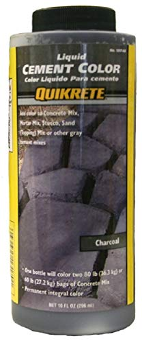 Quikrete 1317-00 Liquid Cement Color, 10oz, Charcoal