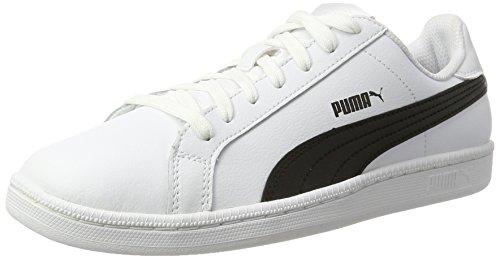 Puma Smash L, Zapatillas Unisex adulto, Blanco (White/Black/White), 36 EU