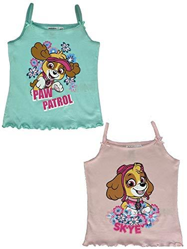 PAW PATROL underskjortor – Skye tröjor – Skye underskjortor i 2-pack – ekologisk Tex