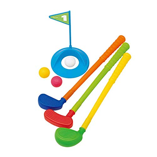 Golfclub voor kinderen Golf Clubs Educatief Golf Toys Sets for peuters Kids voor Indoor Outdoor (Color : As picture, Size : 10 * 18 * 50cm)