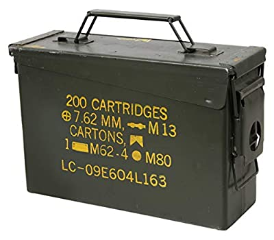 Rothco GI .30 & .50 Caliber Ammo Cans - Surplus.30 Caliber