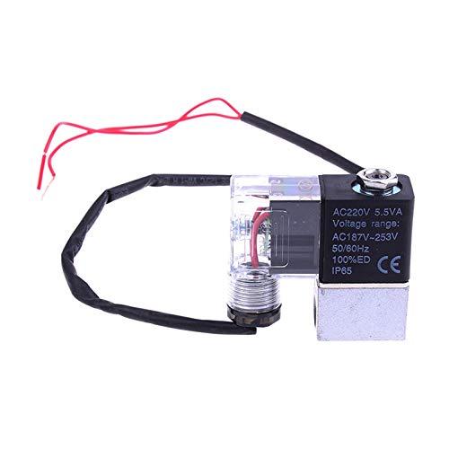 LXH-SH Das elektromagnetische Ventil Mute Oil Free-Luftverdichter-Luftpumpe Armaturen Entlastungsventil Ablassventil Magnetventil 1Pc Industriebedarf