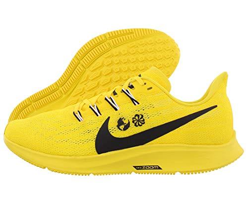 Nike Herren Air Zoom Pegasus 36 Traillaufschuhe, Gelb (Chrome Yellow/Black/White/Lt Zitron 700), 44 EU