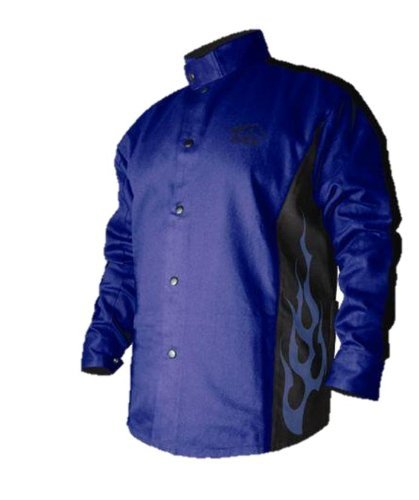 Bxrb9C-M Bsx Stryker Fr Welding Jacket - Revco Size: Medium, Model: BXRB9C-M, Tools & Outdoor Store