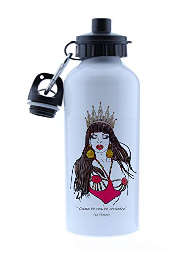 La Veneno cristina Termo Botella de Agua -Jarra 500ML,Regalo Cantimplora Aislado Cafe para Llevar Bidón Botella de Aluminio