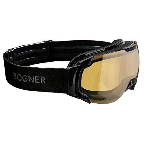 Bogner Goggles JUST-B Polarized | Schwarz | Ski & Snowboard Brille | Hochwertige Qualität