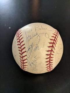 1995 Kansas City Royals Autographed Signed Baseball Autographed Signed Signature JSA COA