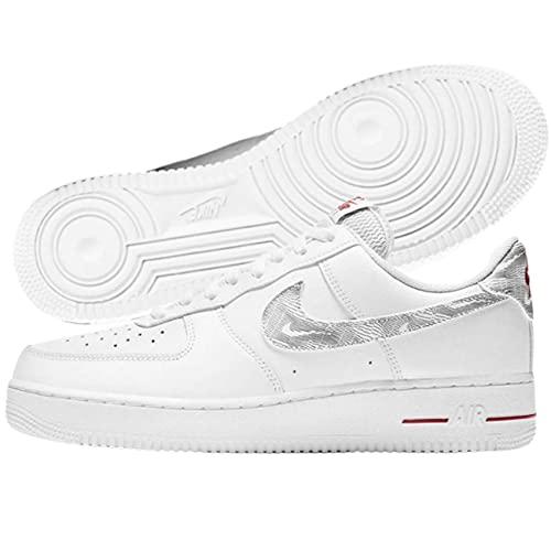 Nike Zapatillas deportivas., blanco, negro, rojo, 40 EU
