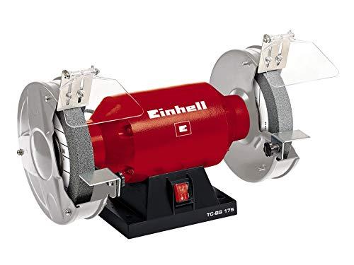 Einhell Doppelschleifer TC-BG 175 (400 W, Drehzahl 2950 min-1, 230 V/50 Hz, inkl. Grob- und Feinschleifscheibe mit 175mm Durchmesser)