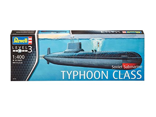 Revell - 05138 - Modelo del Submarino Ruso - Clase Typhoon