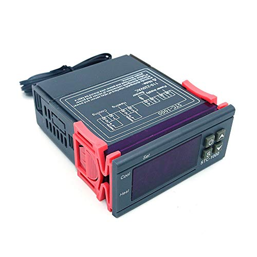 DollaTek Digital STC-1000 Termostato termoregolatore per Tutti Gli Usi 220V con sensore